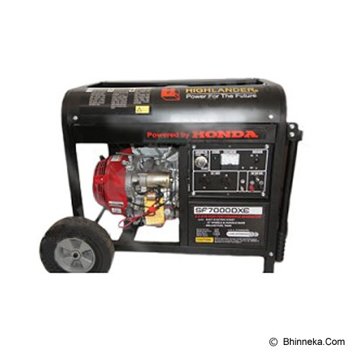 HIGHLANDER Honda Machine Genset [SF-7000 DXE] - Genset Bensin